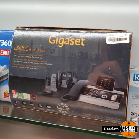 Gigaset DX800A All-in-One telefoon centrale