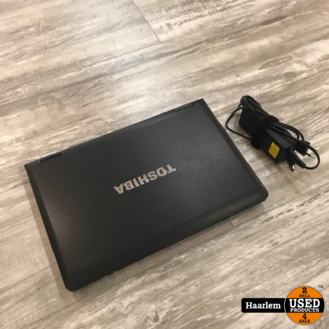 Toshiba A11-1j2  i3-4Gb-250Gb -Win10 Pro laptop