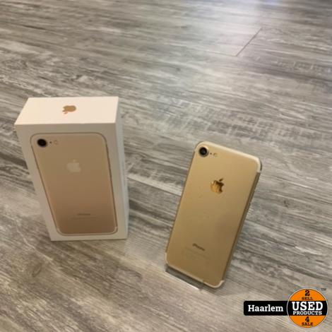 Apple Iphone 7 32GB Gold met nieuwe accu!