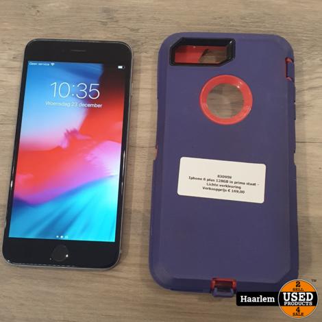 Iphone 6 plus 128GB in prima staat - Lichte verkleuring