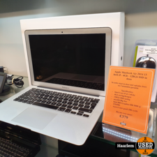 apple Apple Macbook Air 2014 13 inch i5 - 4Gb - 128Gb SSD in doos