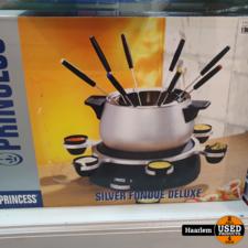 Princess kaas Fondeu Deluxe niet gebruikt in doos Princess kaas Fondeu Deluxe niet gebruikt in doos