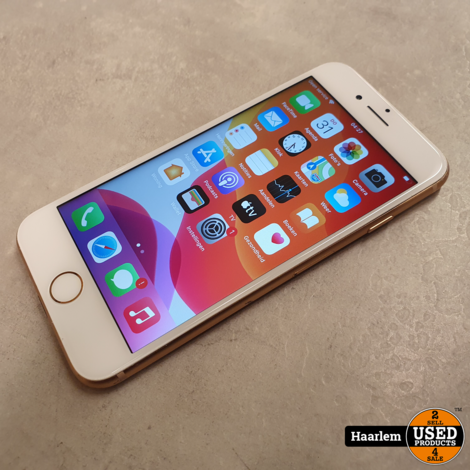 Apple iPhone 8 64gb Rose Gold in nette staat met nieuwe accu!