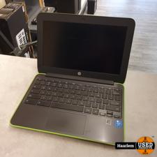 HP HP Chromebook 11 G4 grijs-groen inclusief oplader