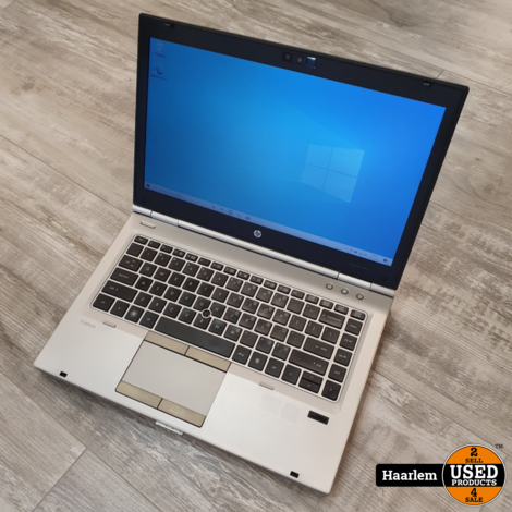 HP 8460P i5 laptop - 4GB - 320 GB - W10 in prima staat inclusief oplader