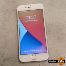 apple Apple iPhone 7 128GB Silver zeer net met nieuwe batterij!