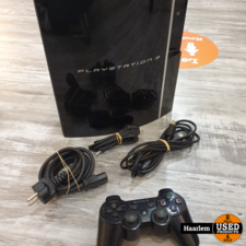 sony Playstation 3 fat 80GB inclusief controller en kabels in prima staat