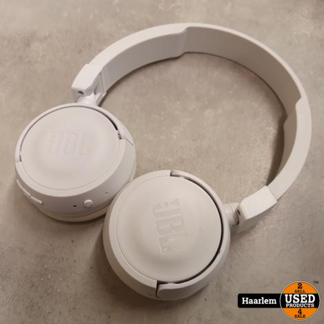 JBL Tune 450BT Bluetooth koptelefoon White in nette staat