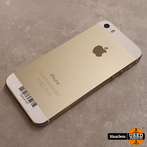 Apple iPhone 5S 16Gb Gold in nette staat