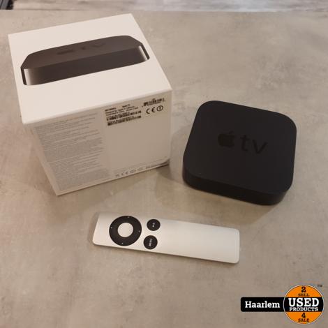 Apple TV 3 in nette staat in doos met afstandsbediening