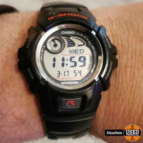 Casio G-Shock 2548- G2900 zwart in nette staat