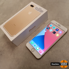 Apple iphone 7 Apple iPhone 7 Plus 32gb goud met nieuwe accu in doos * Refurbished*