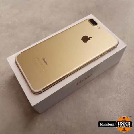 Apple iPhone 7 Plus 32gb goud met nieuwe accu in doos * Refurbished*
