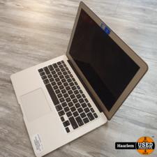 Apple MacBook Apple MacBook Air 2015 13 inch i5 120GB SSD 4GB met lader