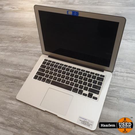 Apple MacBook Air 2015 13 inch i5 120GB SSD 4GB met lader