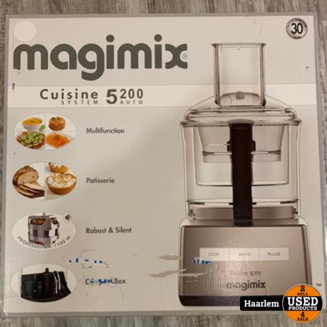Magimix cuisine 5200 keukenmachine nieuw in doos