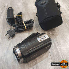 sony Sony HDR-cx410 Camera in nette staat inclusief oplader en tasje
