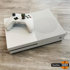 microsoft Xbox One S wit 500 GB met controller