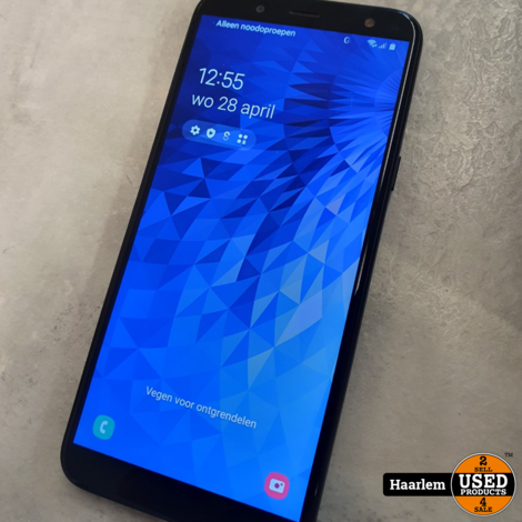 Samsung J6 32 GB Duo sim in doos