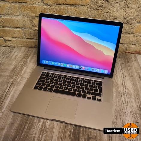 Macbook Pro Retina Mid 2014 15 inch i7 | 2.2Ghz - 16Gb Ram - 256Gb SSD - Big Sur