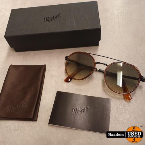 Persol 2456-S 1094/32 Black & Havana Zonnebril als nieuw in doos