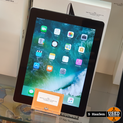 Apple IPad 4 16GB Wifi & 4G in prima staat