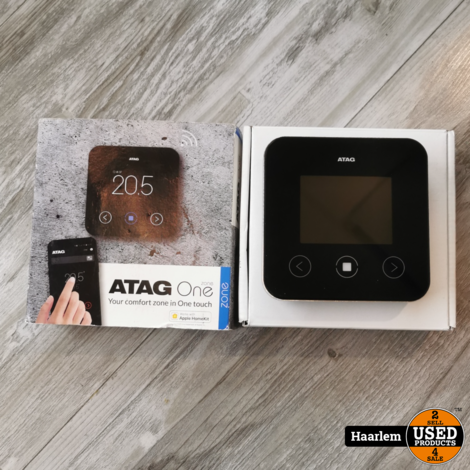 Atag One Touch thermostaat in nieuwstaat