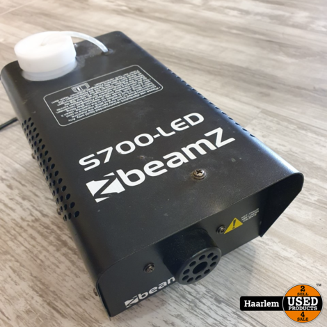 Beamz s700-led rookmachine in nette staat