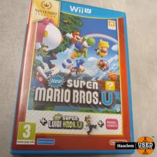 New Super Mario Bros. + New Super Luigi U Wii U game New Super Mario Bros. + New Super Luigi U Wii U game