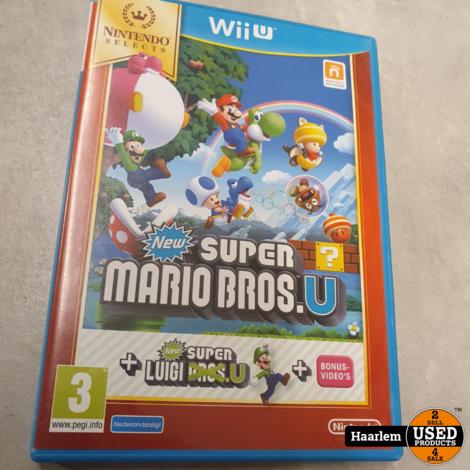 New Super Mario Bros. + New Super Luigi U Wii U game