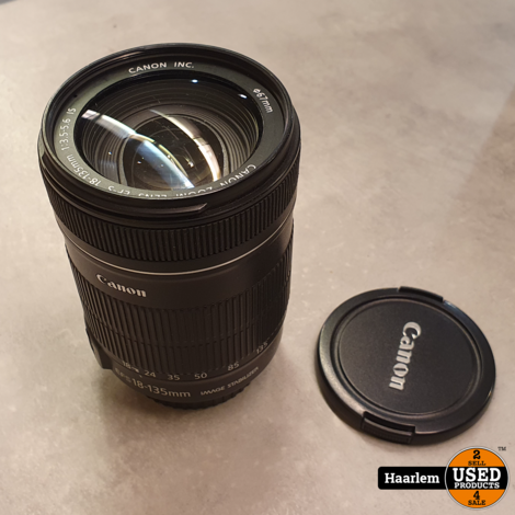 Canon EFS 18-135mm 3.5-5.6 IS lens