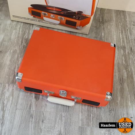 Crosley Cruiser 3 speed platenspeler als nieuw in doos