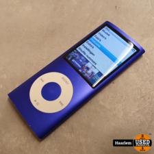 ipod Apple iPod Nano 8gb 4e Gen Paars met kabel