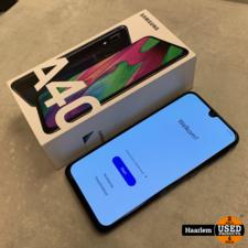 Samsung Samsung Galaxy A40 64Gb Black in nette staat in doos