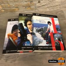 Boudewijn Buch Series 1 t/m 3 de fascinaties van Boudewijn  3 dvd-boxen