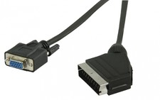 Scart naar VGA kabel 1.0m
