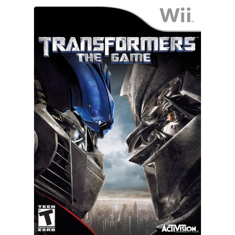 Nintendo Wii Game: Transformers the Game