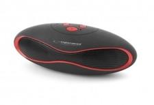 Bluetooth Speaker Trival Zwart/Rood