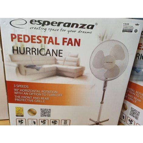 Ventilator Hurricane | Wit / Grijs