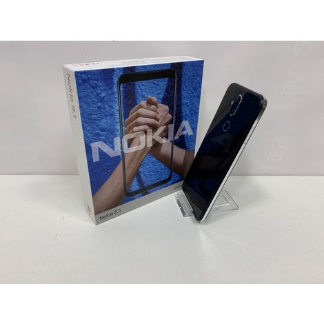 Nokia 8.1 | 64GB | Zwart | A-Grade