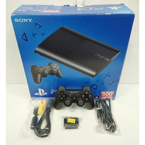 Sony Playstation 3 Ultra Slim 500GB | Zwart | B-Grade