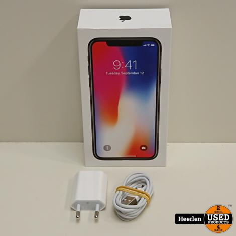 Apple iPhone X | 64GB | Space Gray | C-Grade | Met Garantie