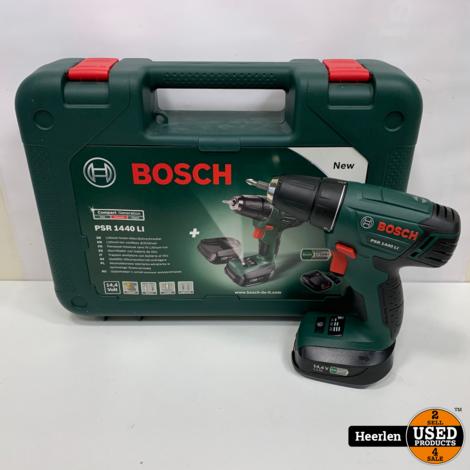 Bosch PSR 1440 LI Accuboormachine