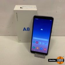 Samsung Samsung Galaxy A8 2018   32GB   Orchid-Gray   A-Grade   Met Garantie