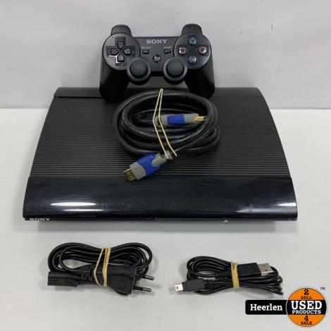 Sony Playstation 3 Ultra Slim   12GB   Zwart   B-Grade   Met Garantie