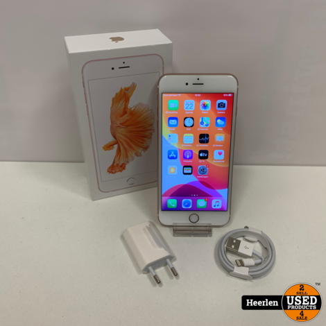 Apple iPhone 6S Plus | 128GB | Rose Goud | B-Grade | Met Garantie