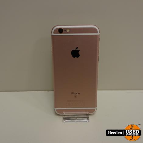 Apple iPhone 6S   64GB   Rose Goud   B-Grade   Met Garantie