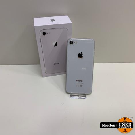 Apple iPhone 8   64GB   Zilver   B-Grade   Met Garantie
