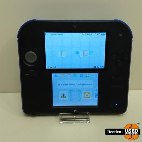 Nintendo 2DS | Zwart - Blauw | B-Grade | Met Garantie