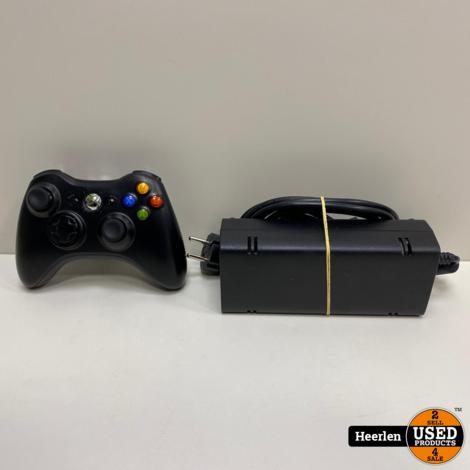 Microsoft Xbox 360 Slim | 250GB | Zwart | C-Grade | Met Garantie